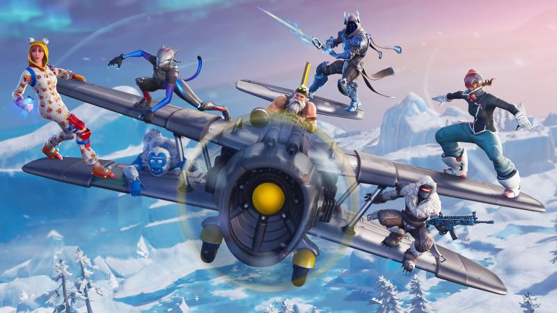 In Fortnite: Battle Royale appeared combat aircraft
