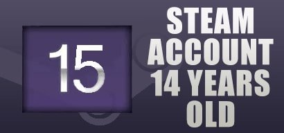 Buy STEAM ACCOUNT 15 YEARS OLD