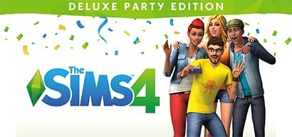 SIMS 4 DELUXE EDITION ACCOUNT