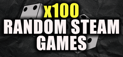 x100 Random steam keys