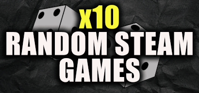 x10 Random steam keys